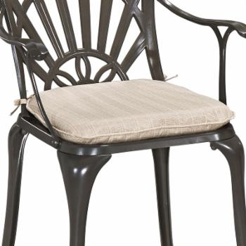 Home Styles Largo Outdoor 18.5 x 18 in. Polyester Seat Cushion
