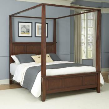Home Styles Chesepeake Canopy Bed