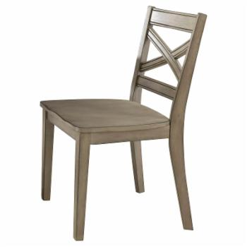 Home Styles Mountain Lodge Cross Back Dining Chair - Set of 2