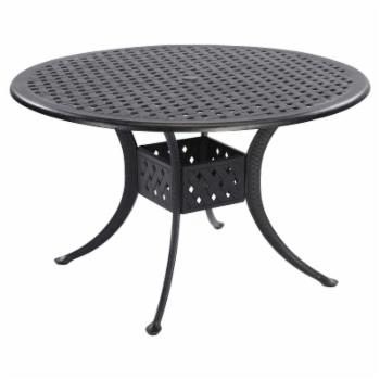 Home Styles La Jolla Cast Aluminum Round Patio Dining Table