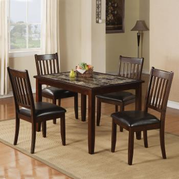 Home Source Rutgers 5 Piece Dining Set
