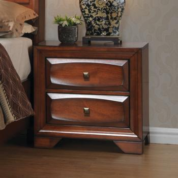 Home Source Industries Classic 2 Drawer Nightstand