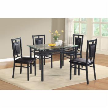 Home Source Industries Linda 5 Piece Dining Set