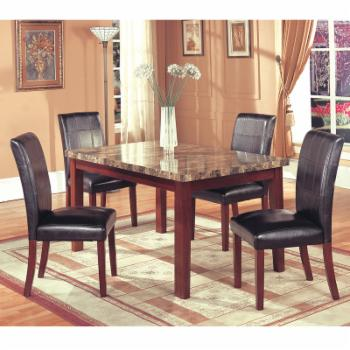 Home Source Industries Sienna 5 Piece Dining Set