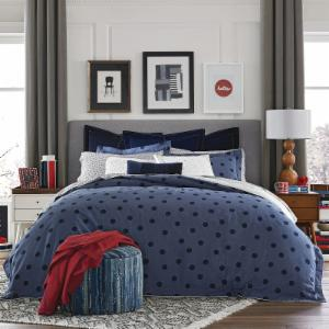 Olympia Dot Comforter Set By Tommy Hilfiger