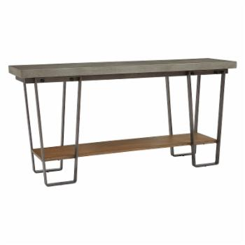 Right2Home Sofa Table with Concrete Top