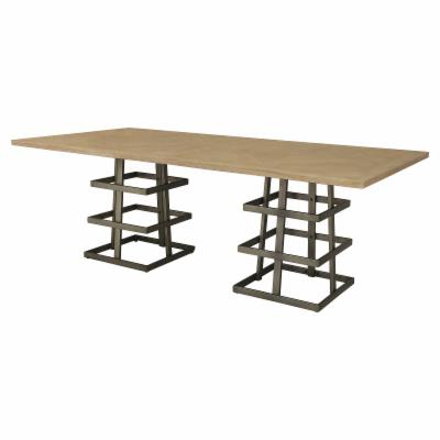 Excellent Distressed Industrial Style Kitchen And Dining Room Tables Gmtry Best Dining Table And Chair Ideas Images Gmtryco