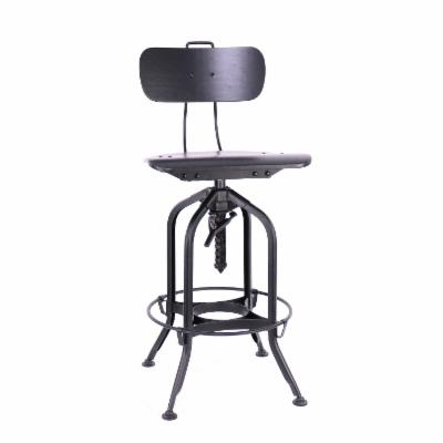 Admirable Distressed Industrial Style Bar Stools And Counter Stools Pabps2019 Chair Design Images Pabps2019Com