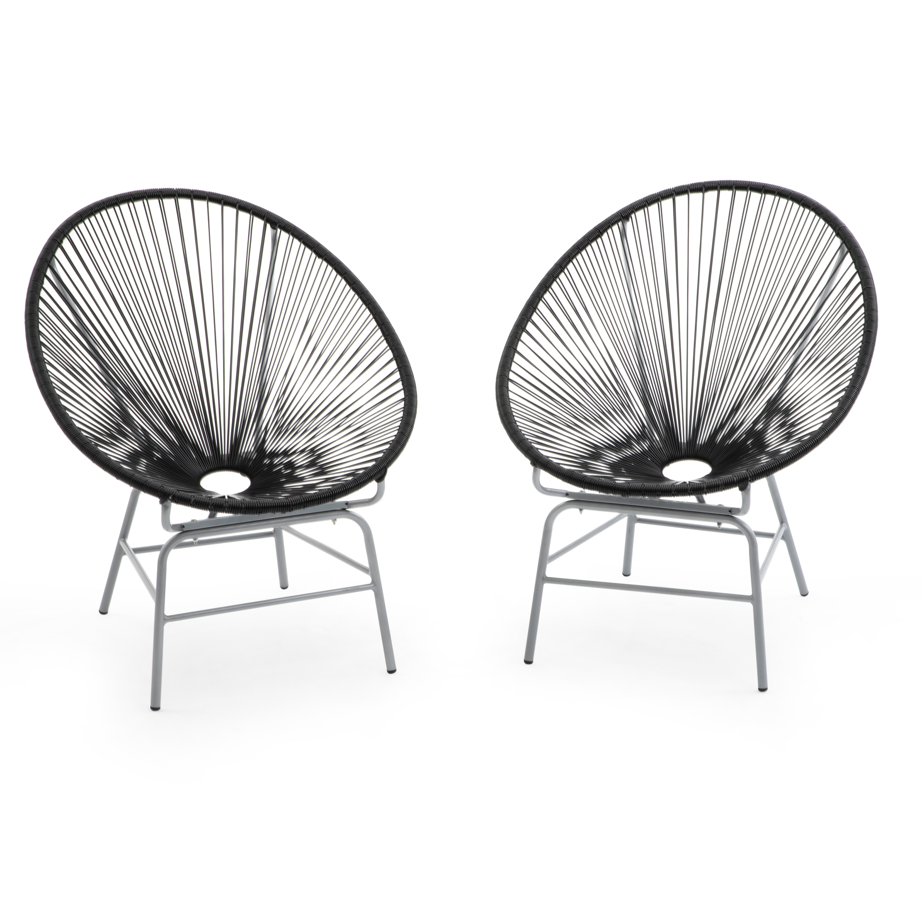 Coral Coast Haley Acapulco All Weather Wicker Sun Chair Set of 2
