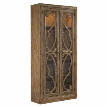 Hooker Furniture Solana Dining Curio Cabinet - Natural
