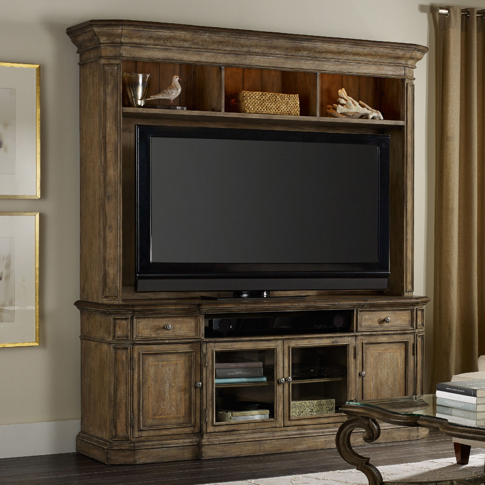 Hooker Furniture Solana 2 Piece Entertainment Center