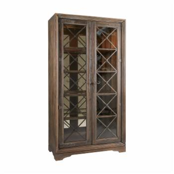 Hooker Furniture Hill Country Sattler Curio Cabinet