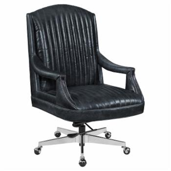 Hooker Furniture Claybrook Executive Swivel Office Chair with Nailhead Trim
