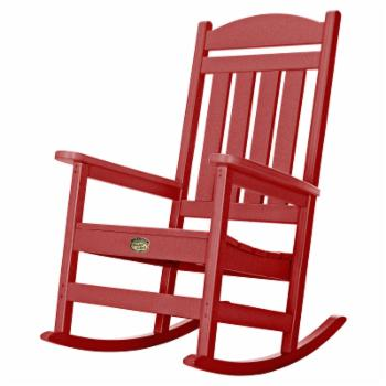 Pawleys Island Solid Colored Plastic Porch Rocker