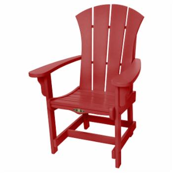 Pawleys Island Solid Colored Sunrise Outdoor Dining Chair With Arms