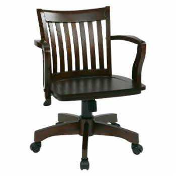 OSP Designs Deluxe Wood Bankers Chair