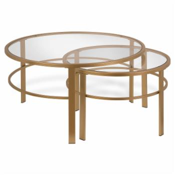 Hudson & Canal Gaia Nesting Coffee Table - Set of 2