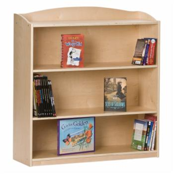 Guidecraft Single-Sided Bookcase - 36H in.
