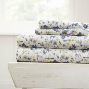 Blossoms  Sheet Set by Noble Linens