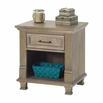 Child Craft Legacy Tressa 1 Drawer Night Stand - Rustic Taupe