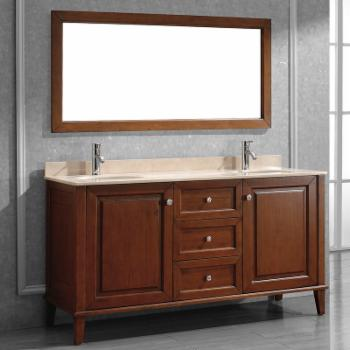 Bauhaus Bath Milly 63 in. Single Bathroom Vanity Set with Mirror