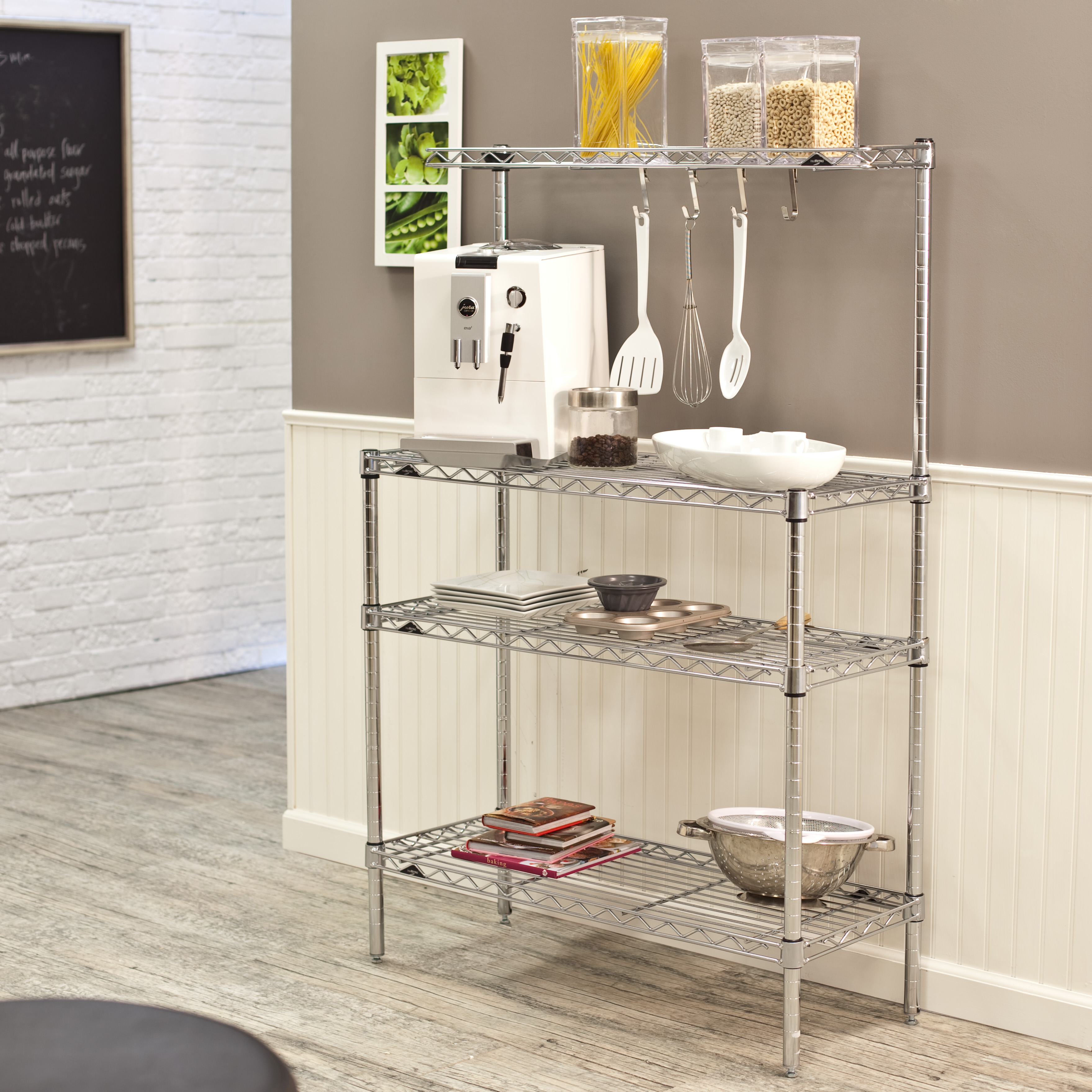 image classy storage bakers rack with of home bisita wine metal padova for racks