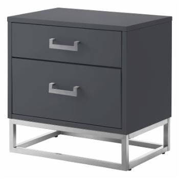 Nicole Miller Rocco 2 Drawer Nightstand