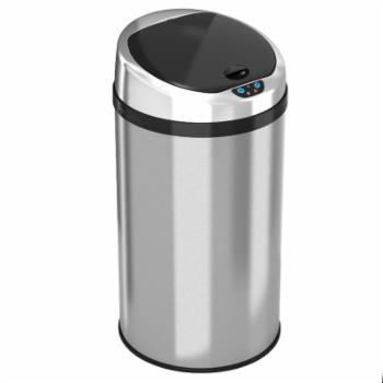 iTouchless IT08RCB Trashcan NX Stainless Steel 8 gal. Trash Can