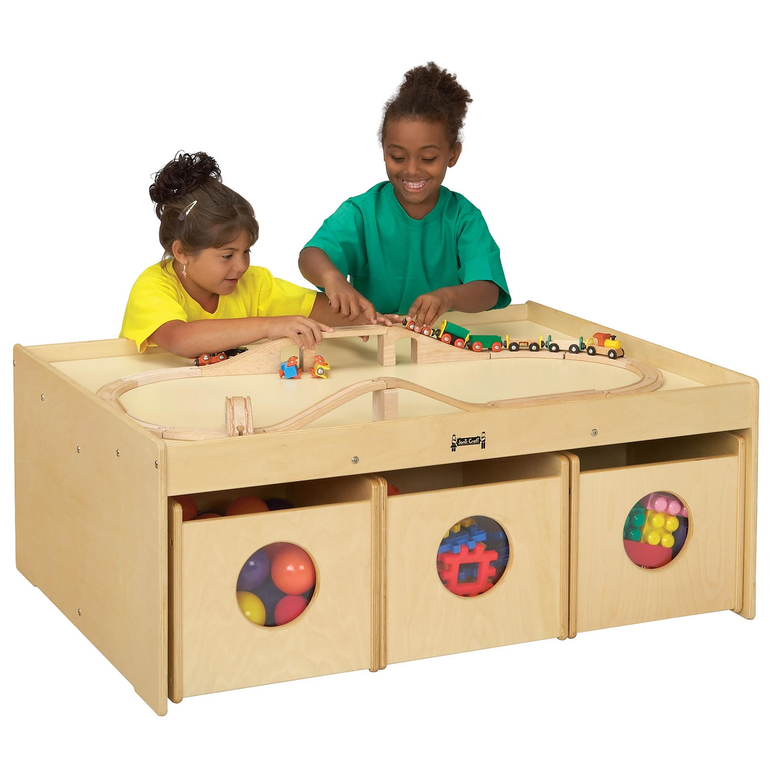 jonticraft kydz activity table with  bins  hayneedle -