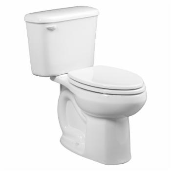 American Standard White Elongated Colony Right Height Complete Toilet