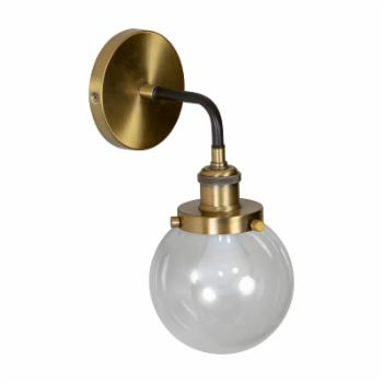 Decor Therapy Samuel WL1138 Suspended Orb Wall Sconce