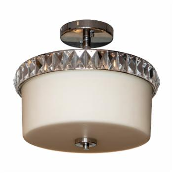 Decor Therapy Cora CH1921 Convertible Semi Flush to Flush Mount Light