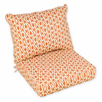 Coral Coast Geo Boxed Edge Outdoor Chair Cushion