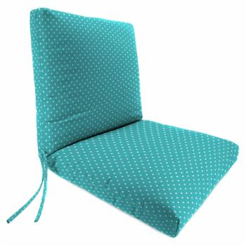 Jordan Manufacturing 40 in. Hinged Outdoor Chair Cushion - Mini Dots