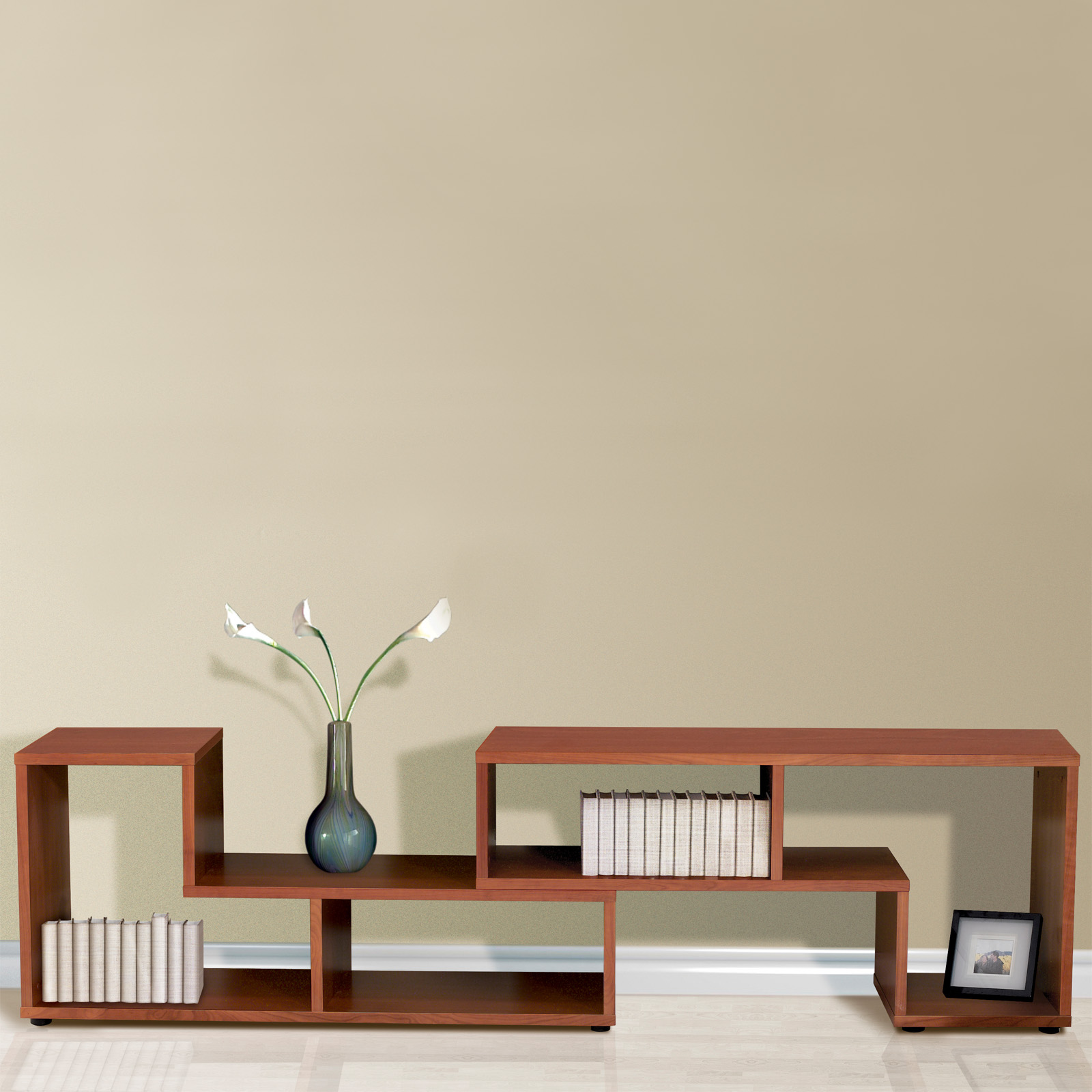 Unique Furniture Expando Puzzle Bookcase | Hayneedle
