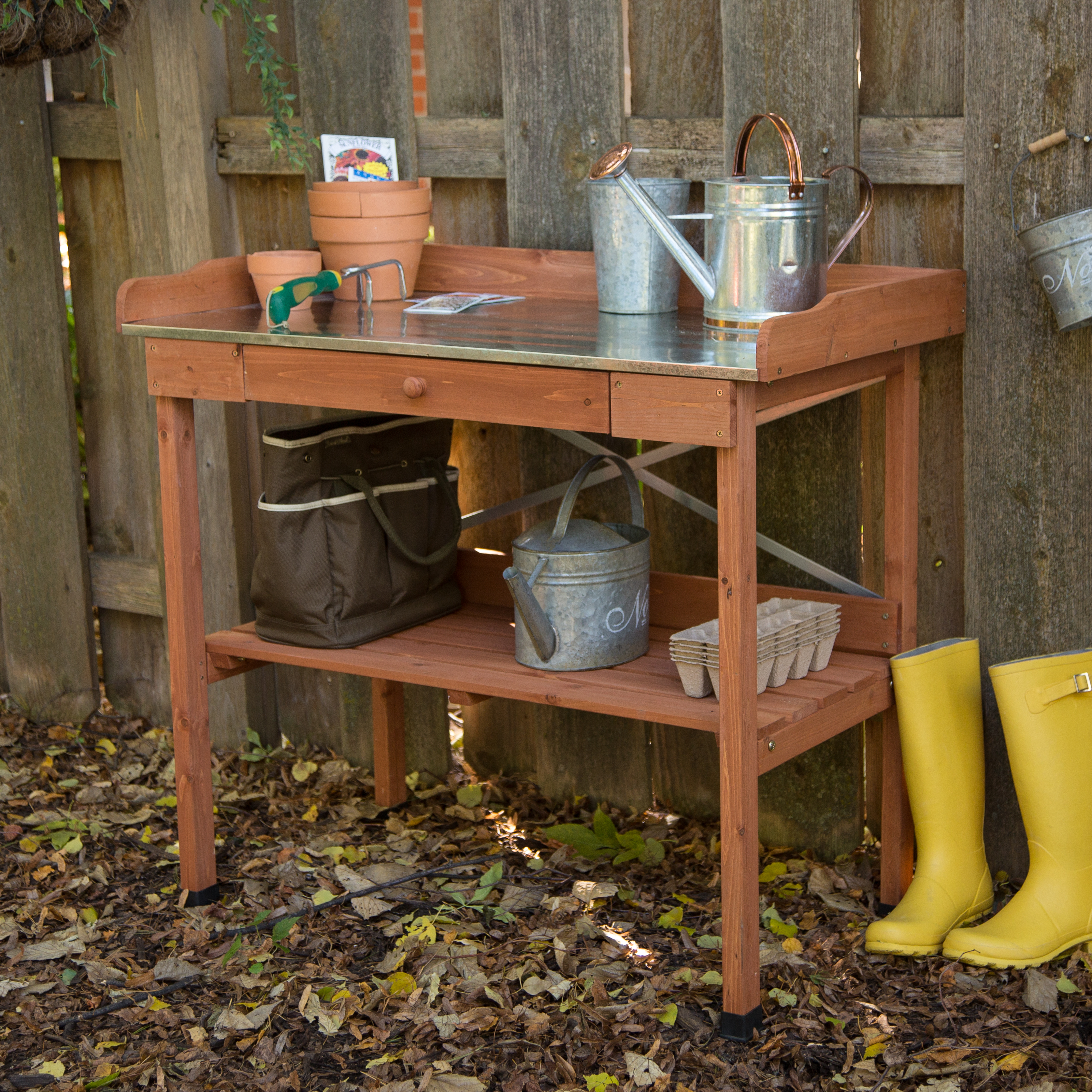 potting doors table wood reclaimed justin wilcott img
