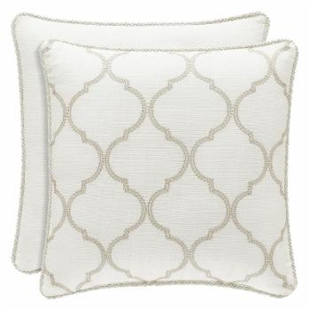Eleanor Square Decorative Throw Pillow by Royal Court