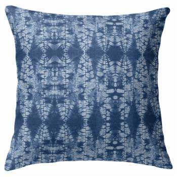 Kavka Designs Stained Leaves Decorative Pillow by Terri Ellis