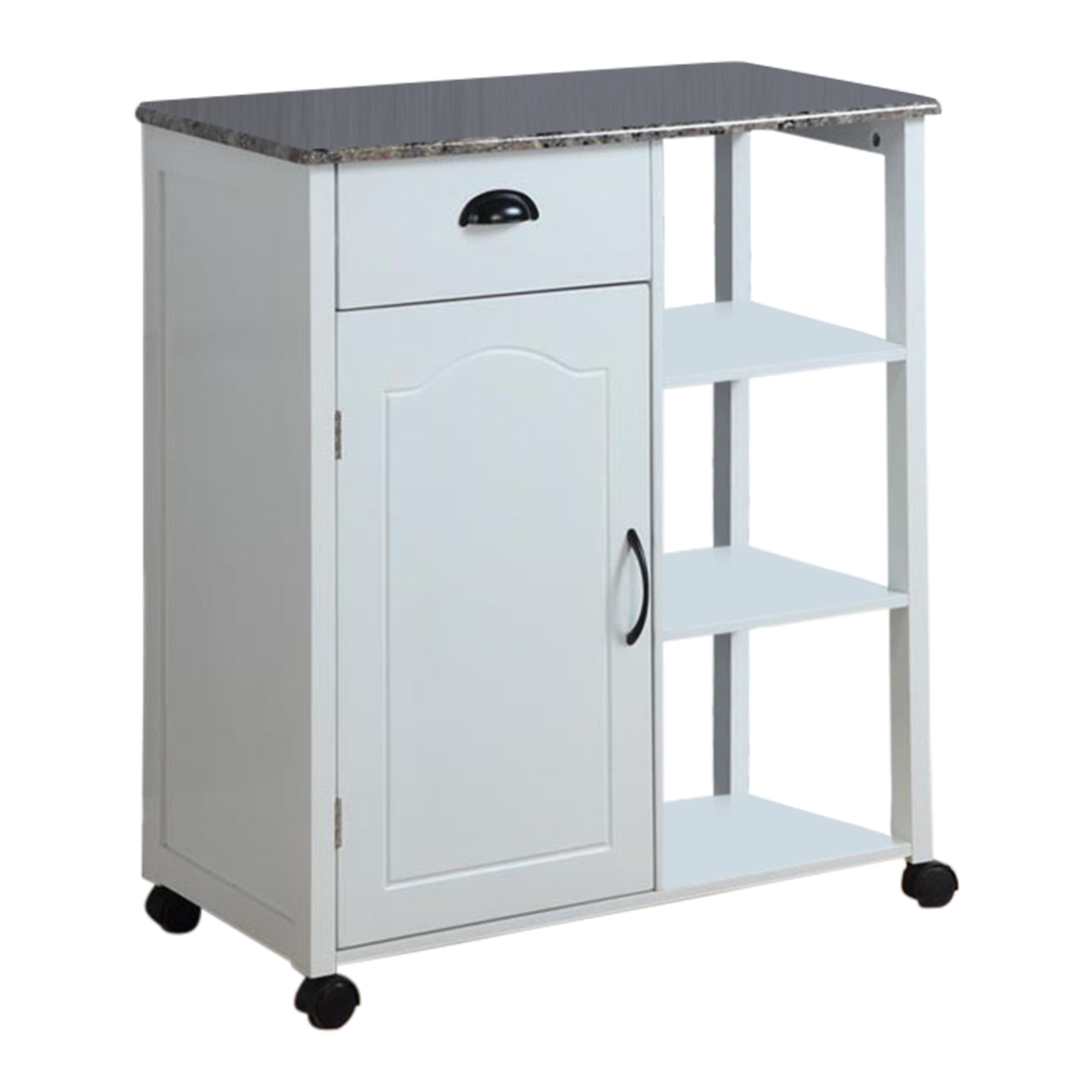 Kitchen Storage Cart - White | Hayneedle on small kitchen carts, kitchen storage shelf, kitchen storage hardware, kitchen storage cages, kitchen delivery carts, kitchen wine cart, industrial style kitchen carts, kitchen carts on wheels, serving carts, kitchen loading carts, kitchen carts home depot, kitchen cart at target, kitchen storage cans, kitchen cart with refrigerator, decor with painted kitchen carts, kitchen cart with drop leaf, kitchen carts w drawers, kitchen islands from lowe's, bed bath and beyond kitchen carts, kitchen island cart,