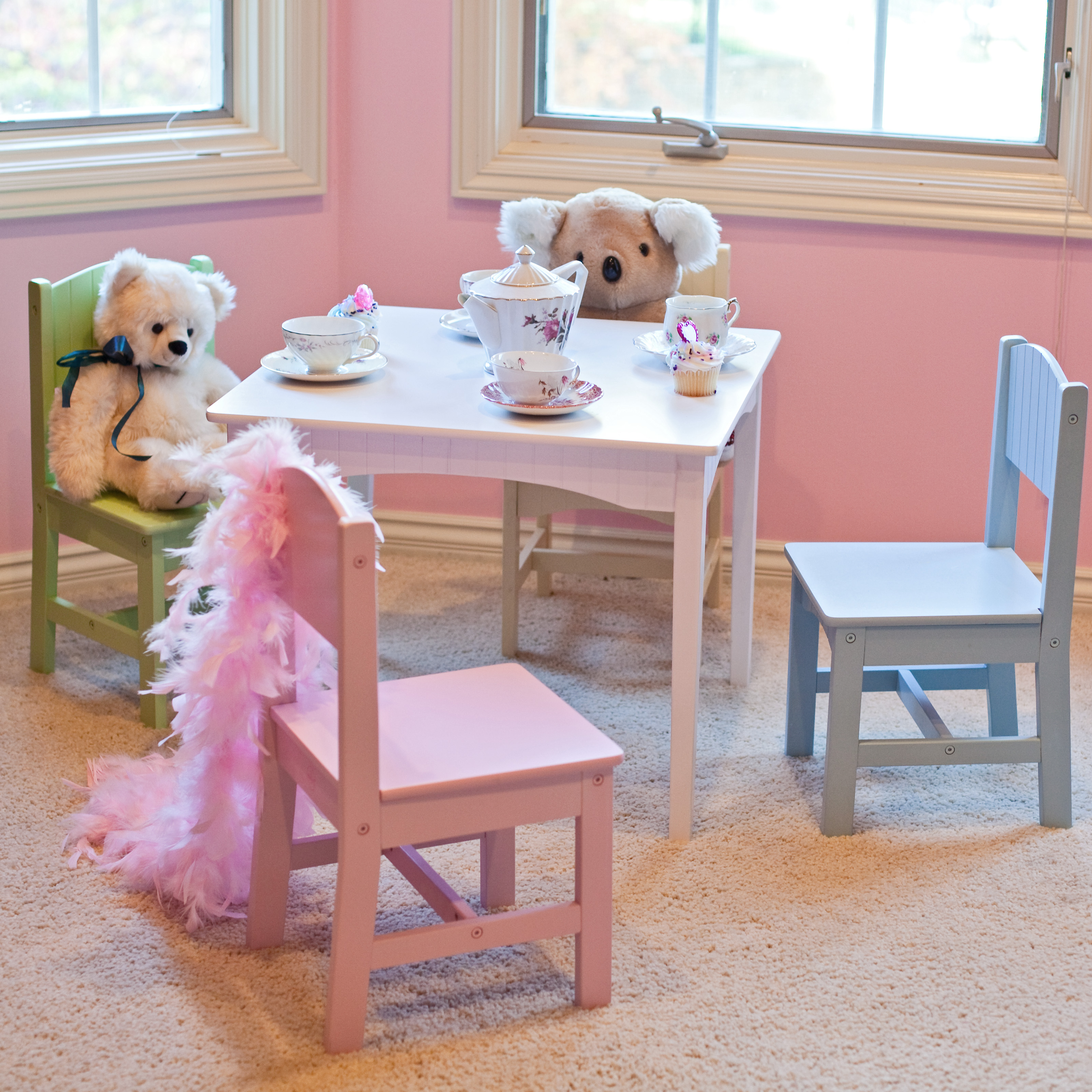 Exceptionnel KidKraft Nantucket Pastel Table And Chair Set   26101