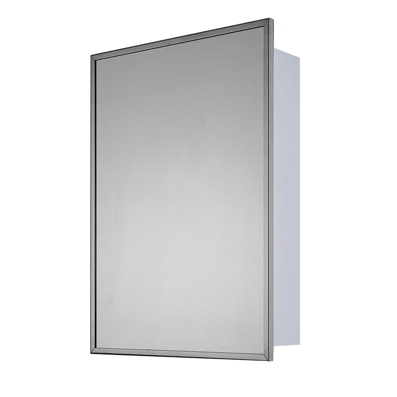 Deluxe Surface Mount Medicine Cabinet  sc 1 st  Hayneedle & Chrome Medicine Cabinets | Hayneedle