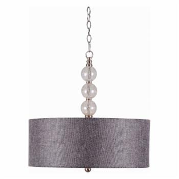 Kenroy Home Maya 93313BS 3 Light Pendant