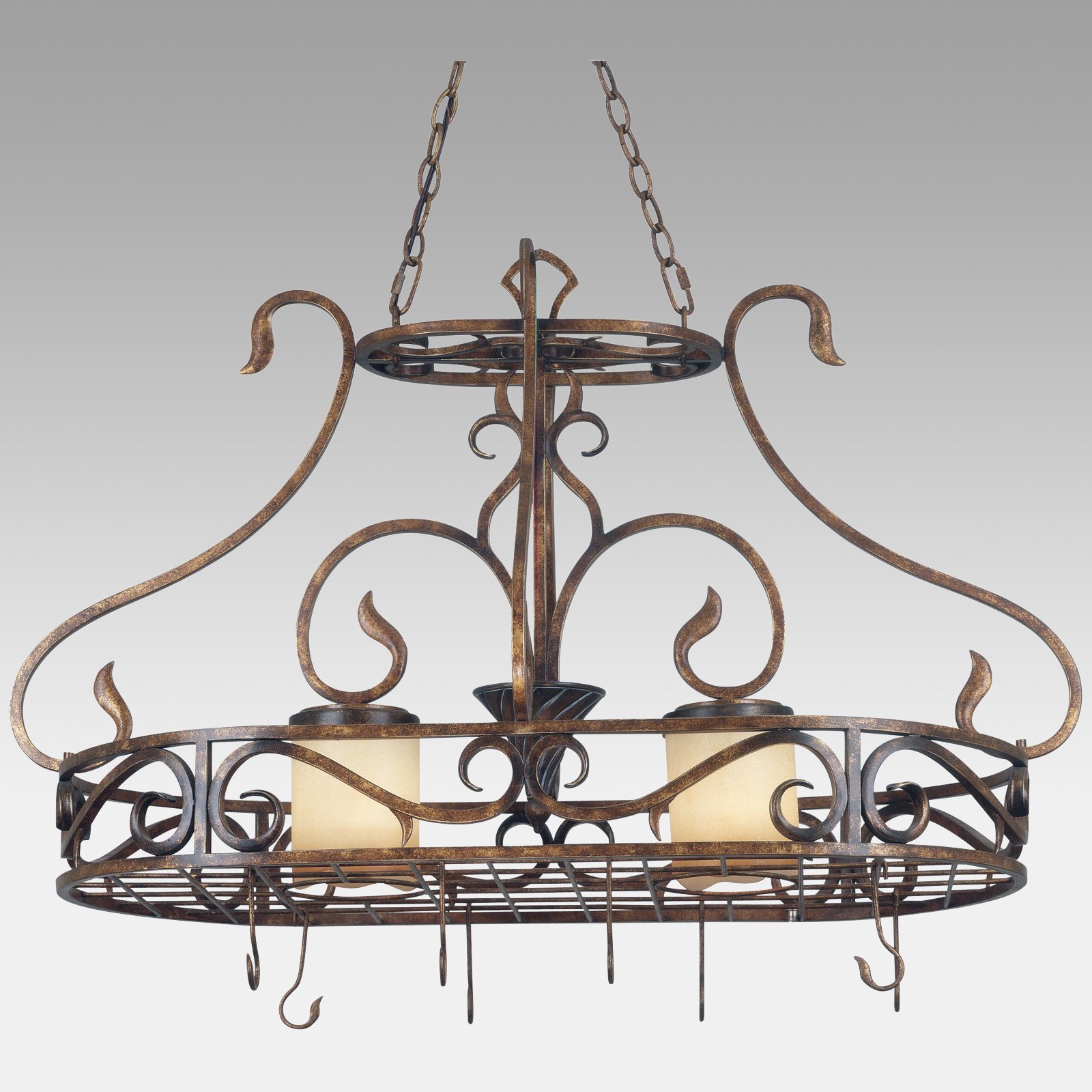 handcrafted metal decorative lights the of by pro racks in hanging ideas copper peddler furniture delightful with rack pot