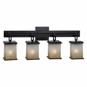 Craftsman Mission Style Bathroom Lighting Hayneedle - Mission style bathroom lighting