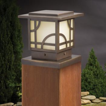 Kichler Larkin Estate™ Post Light-Olde Bronze