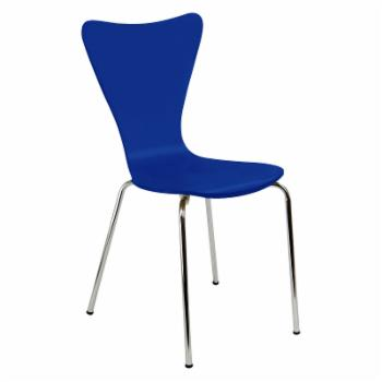 Legare Perfect Sit Bent Ply Chair - Blue