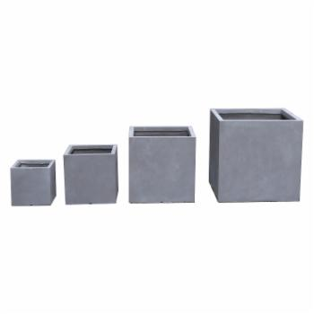 Kasamodern Modern Concrete Square Pot Planter