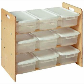 Little Colorado Nine Bin Toy Organizer