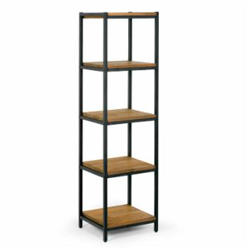 Glamour Home Ailis 57 in. Etagere Bookcase with Five Shelves