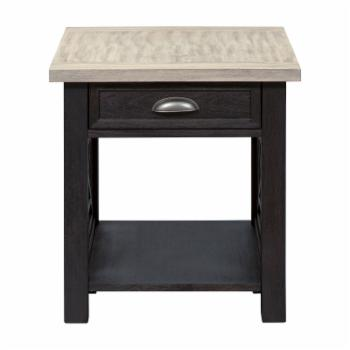 Liberty Furniture Industries Heatherbrook 1 Drawer End Table